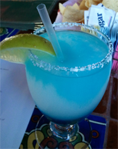 El Patio Blue Margarita Review - 